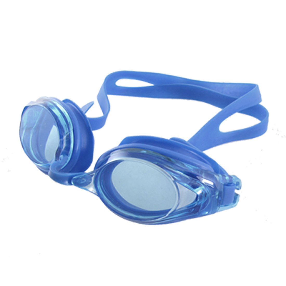 Children Sports Swimming Blue Rubber Goggles Glasses