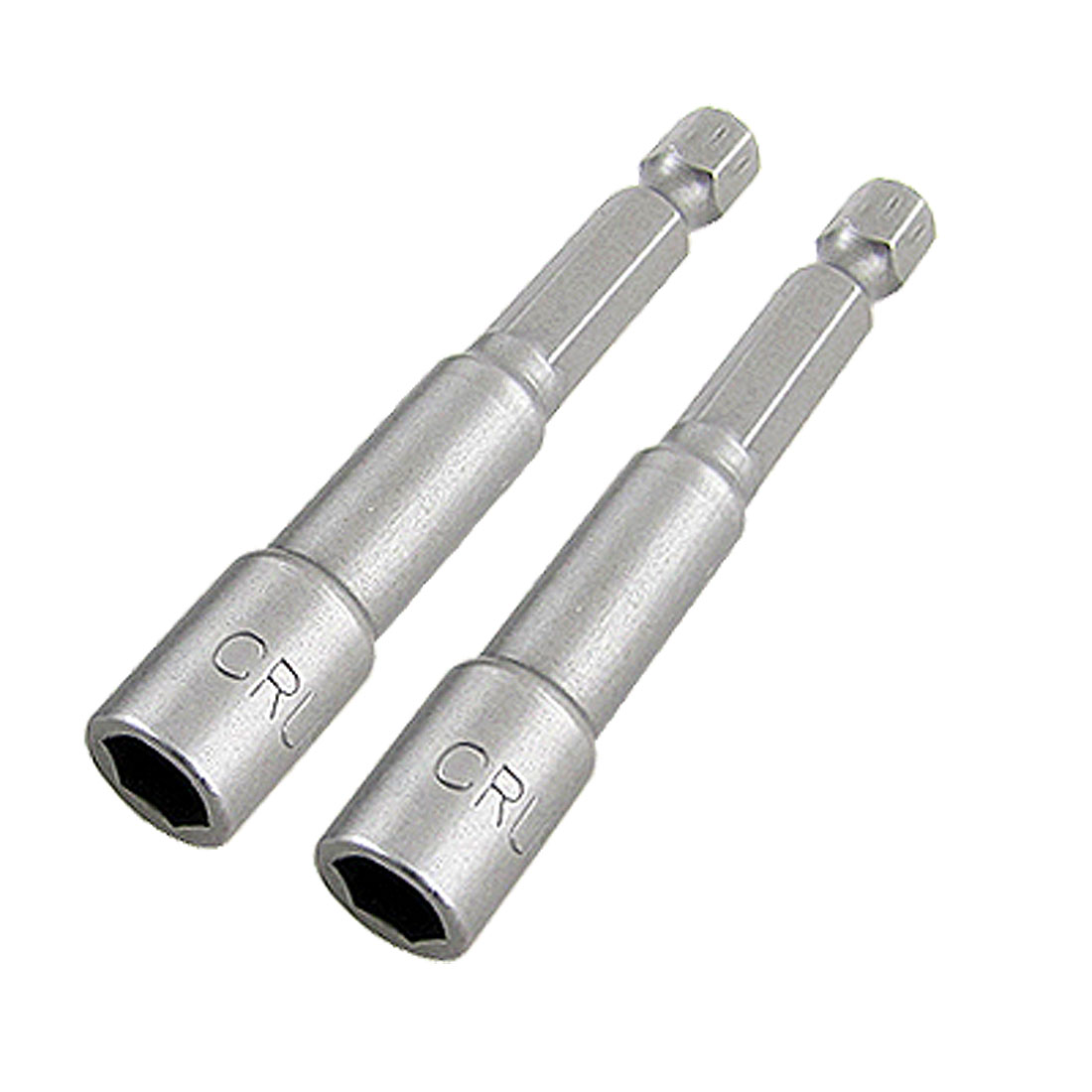 "1/4"" Shank 7mm Hexagon Socket Spanner Hex Nut Driver Bit 2Pcs"