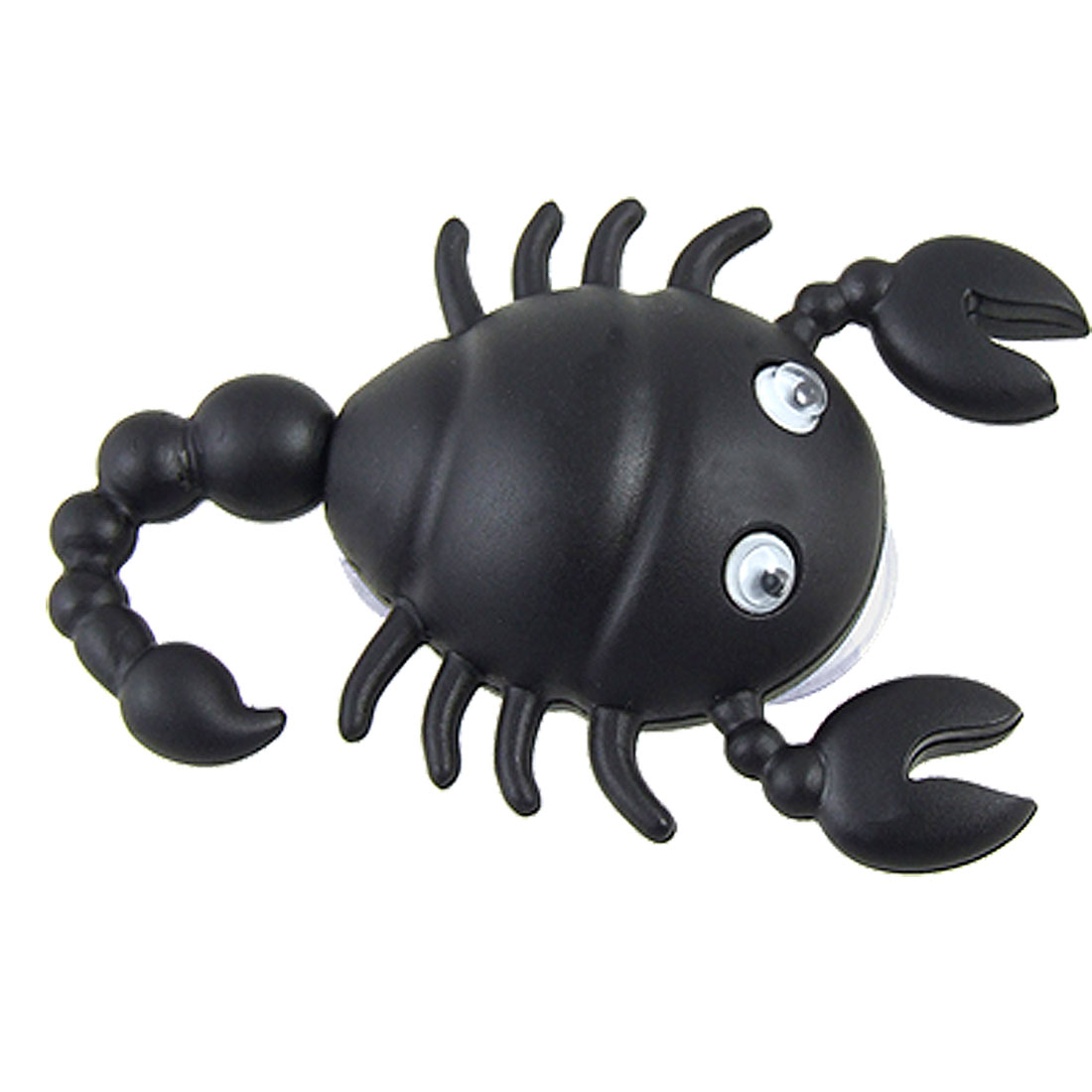 Black Hard Plastic Scorpion Shape Suction Cup Hook Hanger