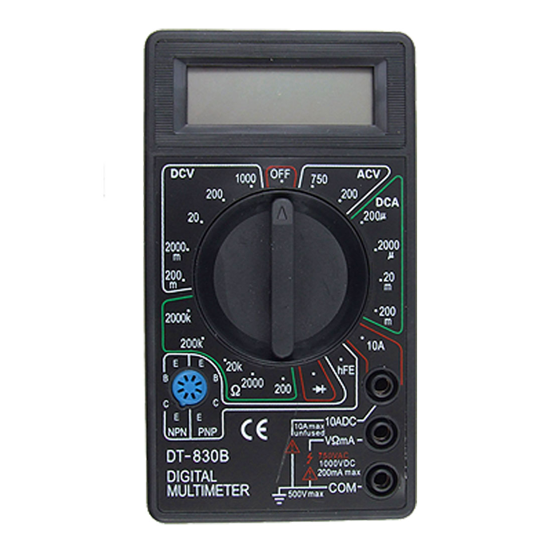 DC AC Voltage Ohm LCD Display Digital Multimeter