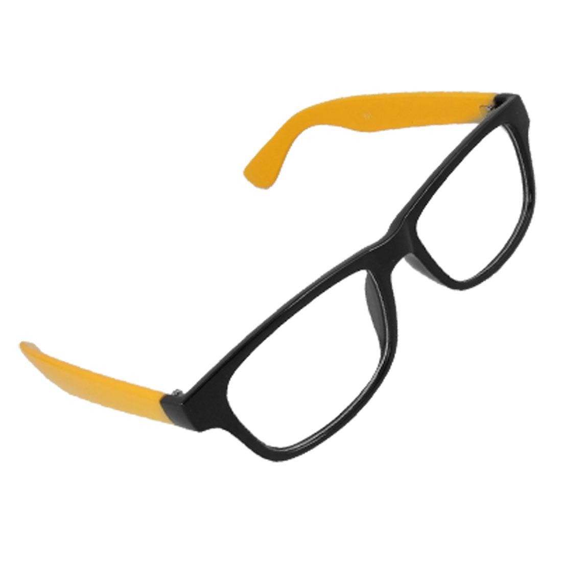 Lady Black Full Frame Multi Coated Lens Plain Eyeglasses