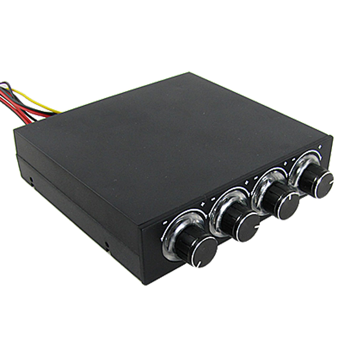 Adjustable 4 Channel 4 Pin Connector Fan Speed Controller for PC