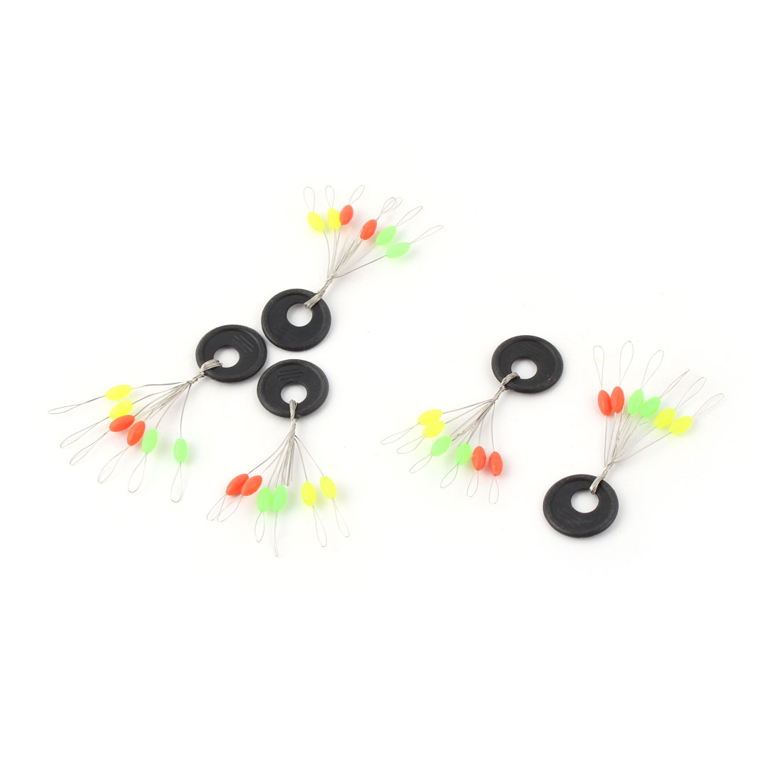 5 Pcs Fishing Colored Olivary 6 in 1 Fish Floating Bobber