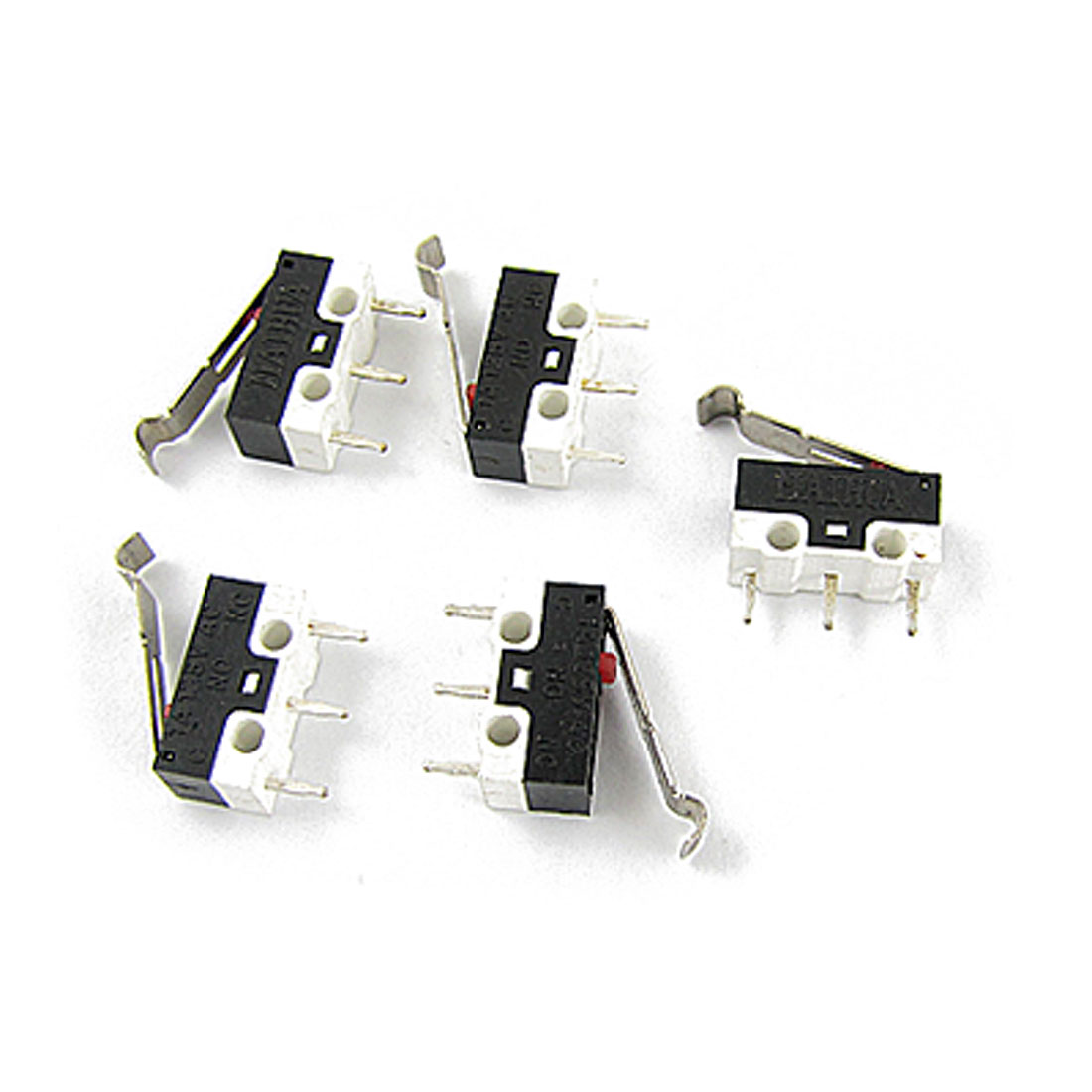 AC 125V 1A SPDT Subminiature Micro Lever Switch 5 Pcs