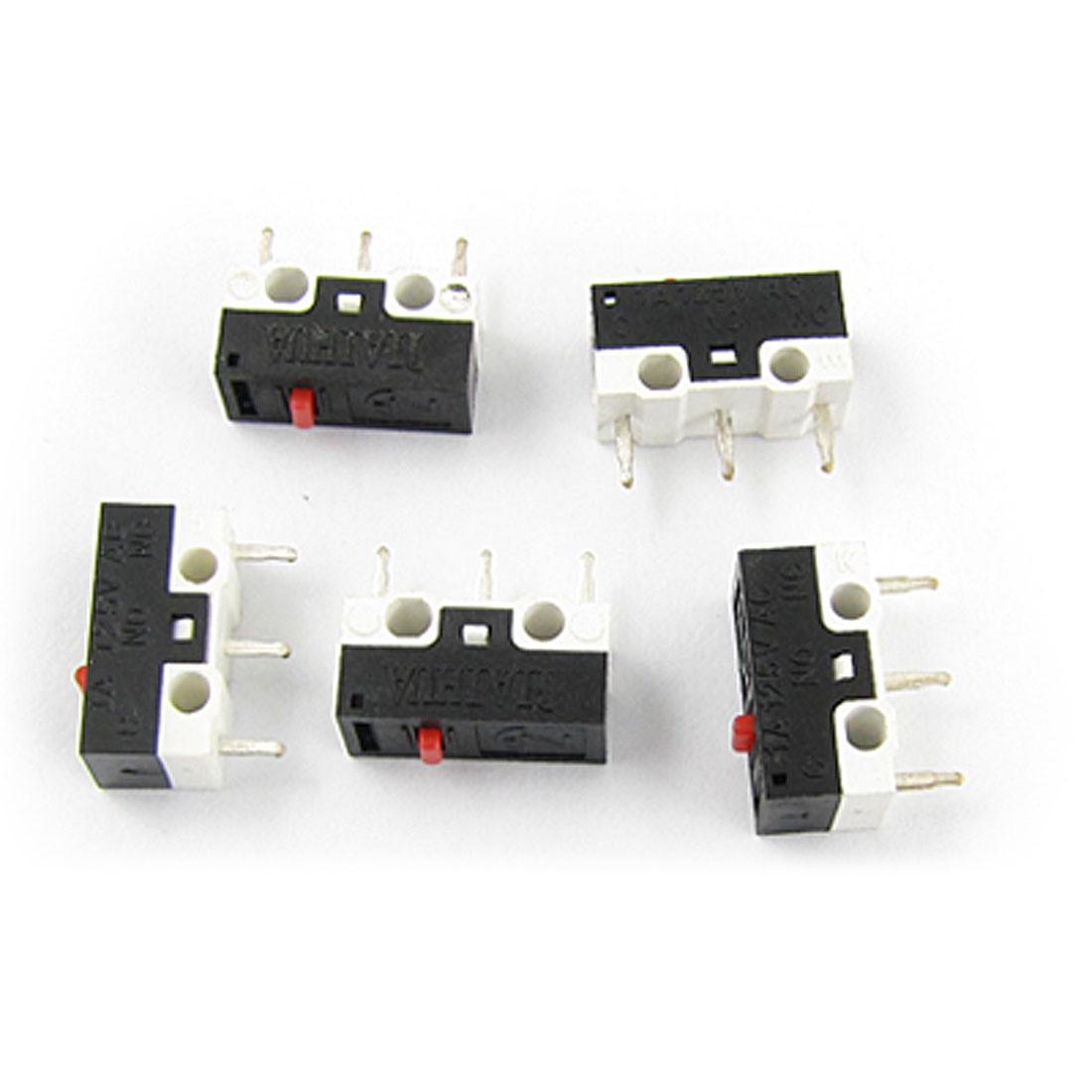 Laptop Computer Mouse Subminimature Micro Limit Switch 5 Pcs