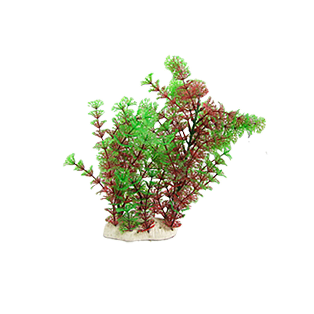 Two-Tone Plastic Aquatic Plants Fish Tank Aquarium Decoration