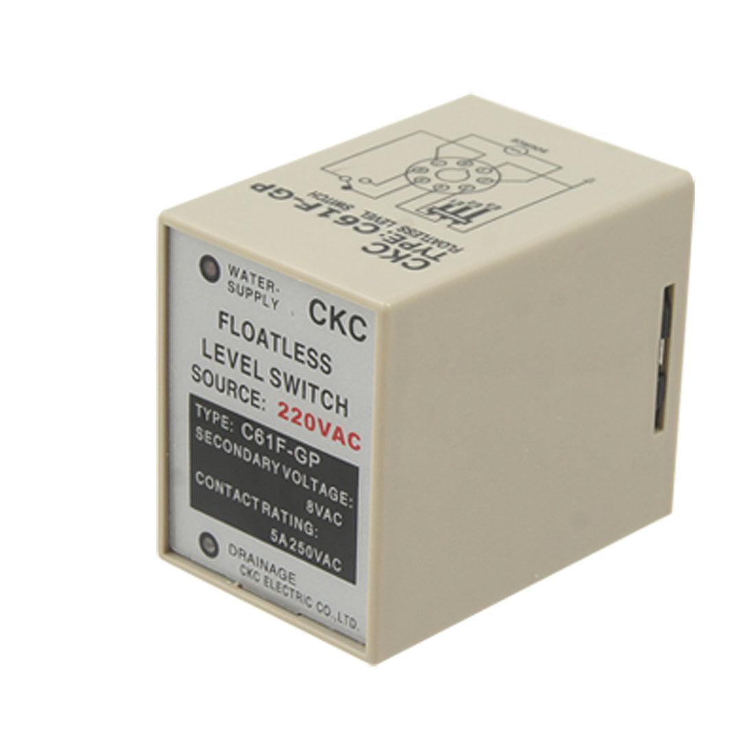AC220V C61F-GP Liquid Floatless Level Switch Controller