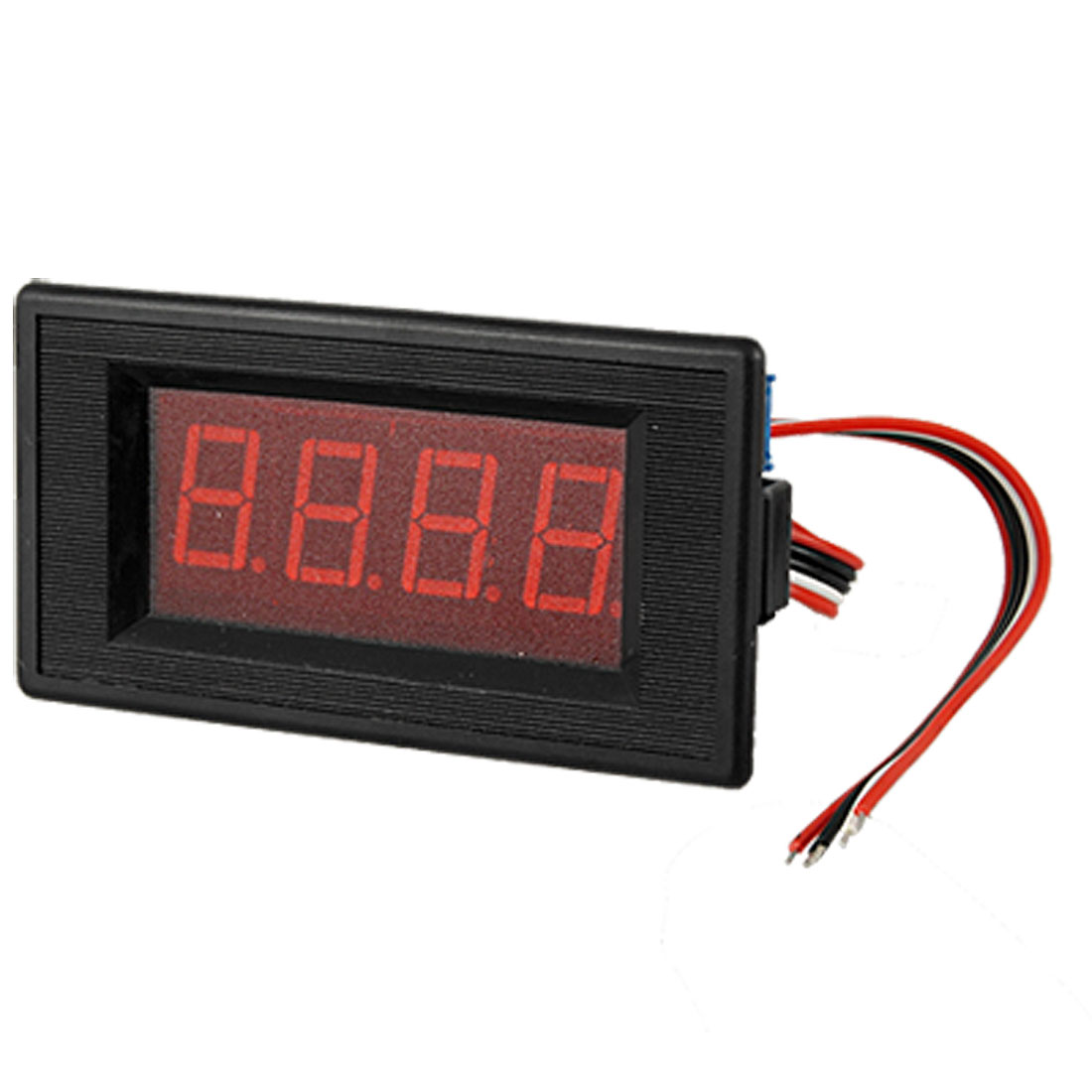 DC100A 3 1/2 Digital Red LED Panel Ammeter 5 Wires 75MV