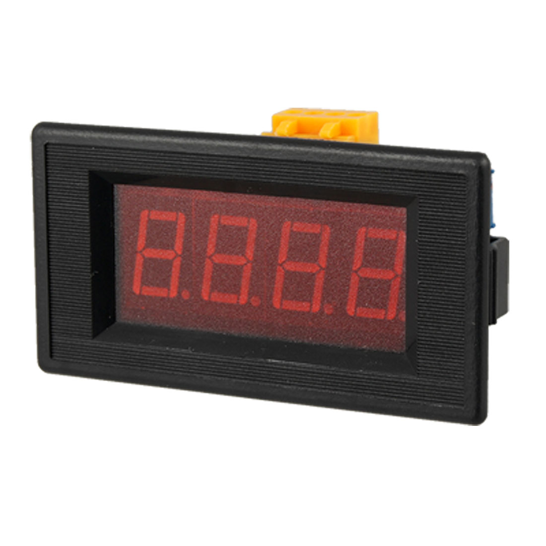 DC2A 3 1/2 Digital Red LED Panel Mount Ammeter