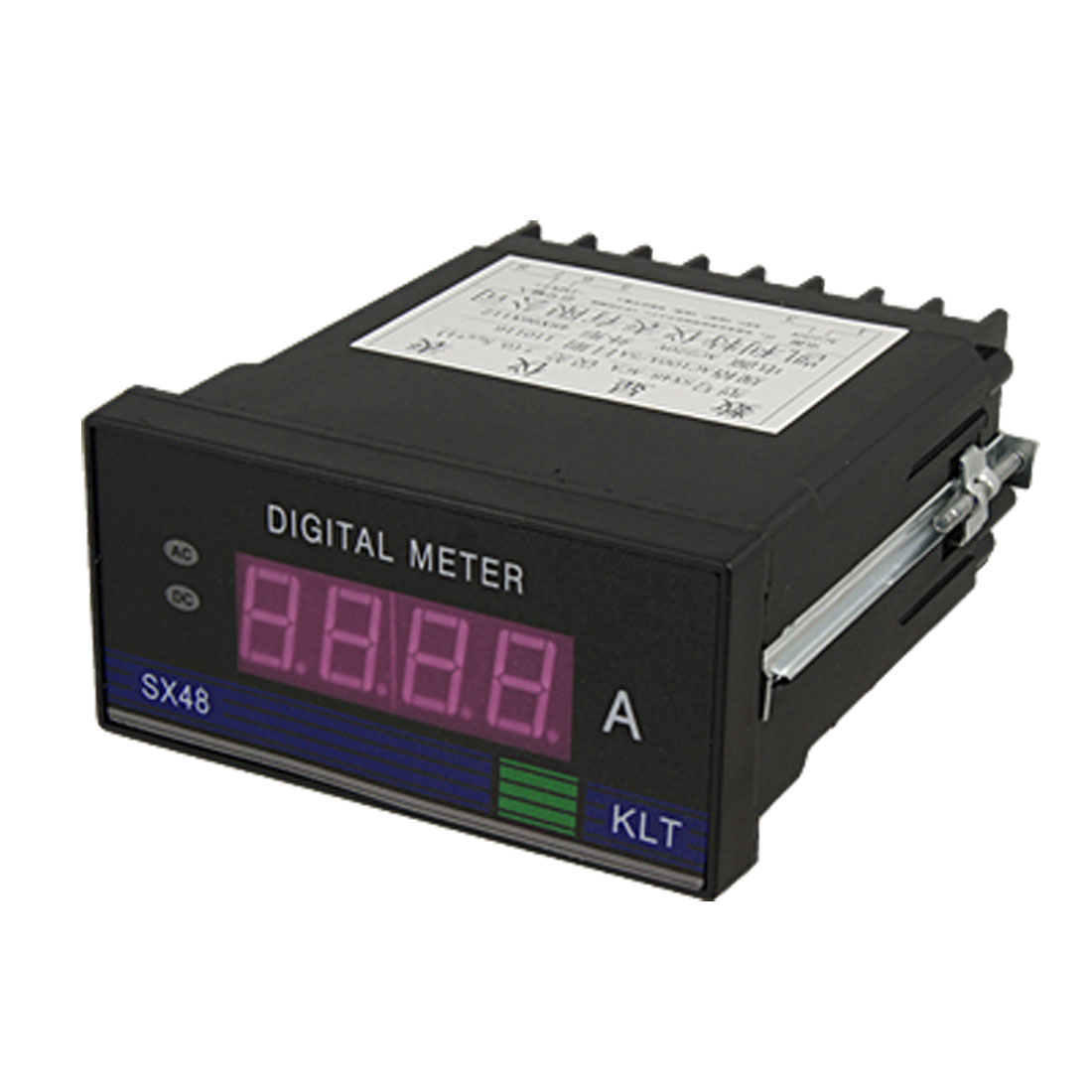 AC 100A 3 1/2 Red LED Display Current Ampmeter Panel Meter Gauge
