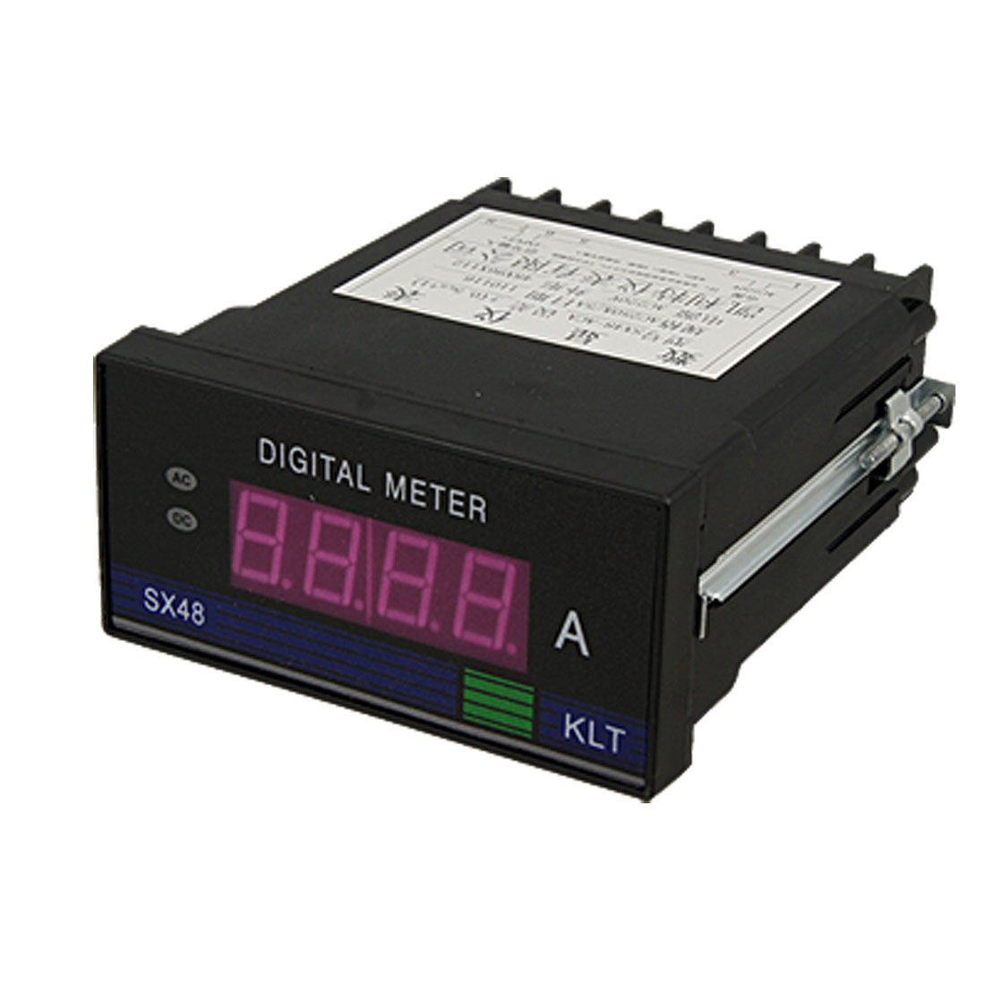 Plastic Shell 4 Digit Red LED Display AC 250A Meter Gauge Ampmeter