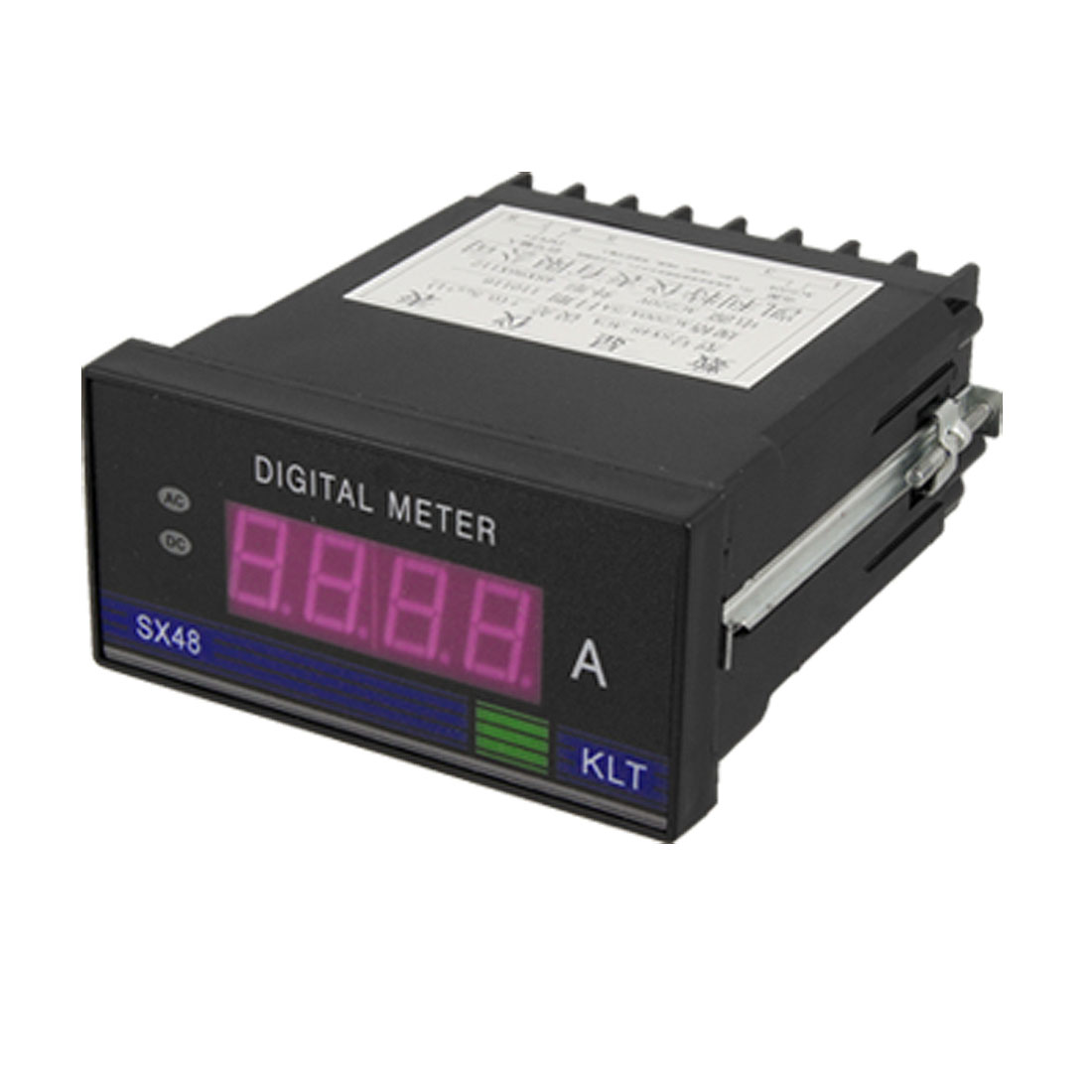3 1/2 AC 220V 200A Red Digital LCD Ampmeter Panel