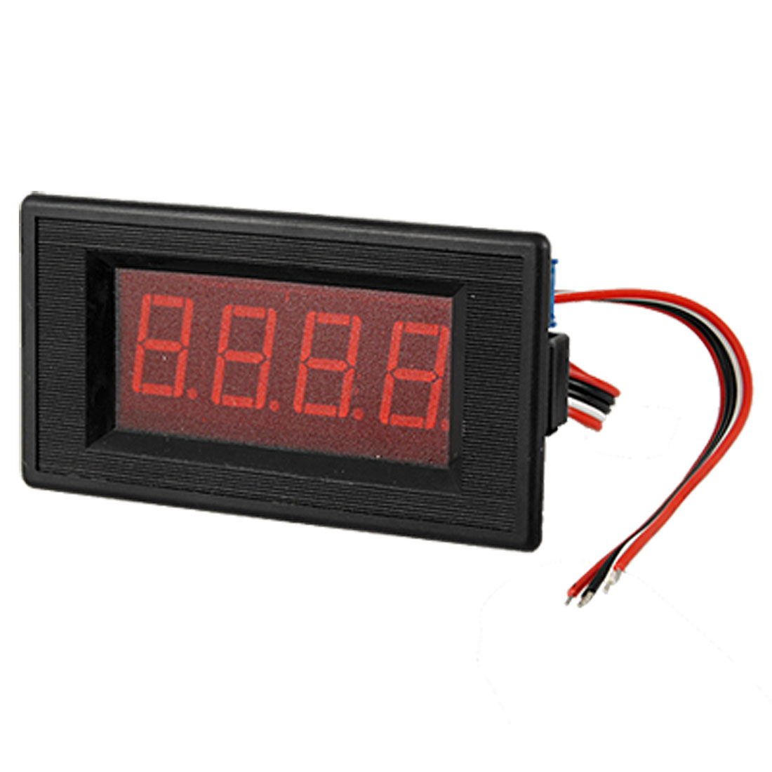 Car Boat Gauge Ampere LED Panel Meter DC 300A 75MV