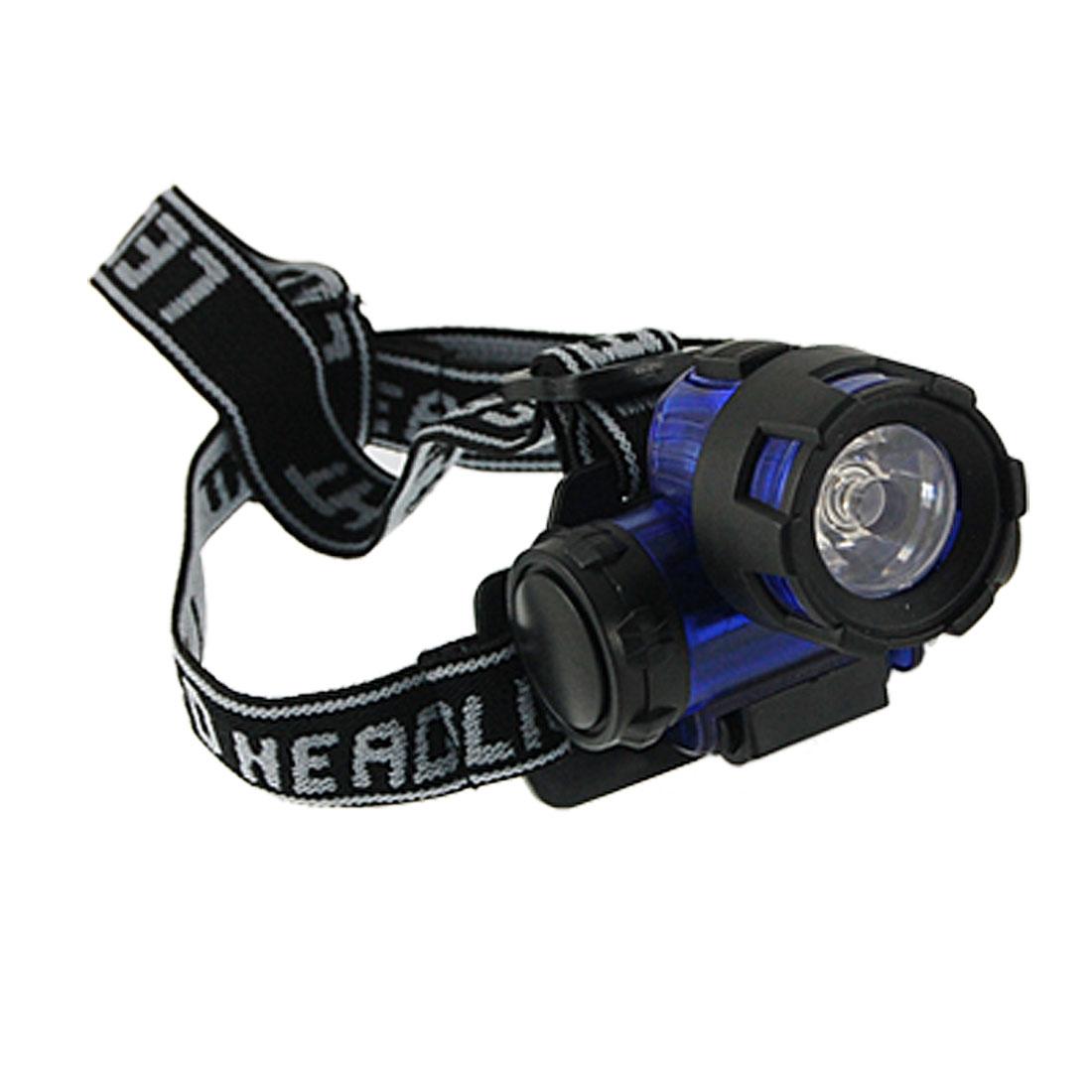 Adjustable Headstrap LED Camping Travel Headlight Lamp