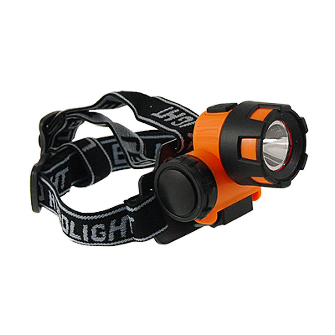 Adjustable Elastic Headstrap LED Camping Headlight Lamp
