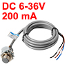 NJK5002C 3-wire Hall Sensor Proximity Switch 5-8mm Detective Distance DC 6-36V 200mA NPN NO