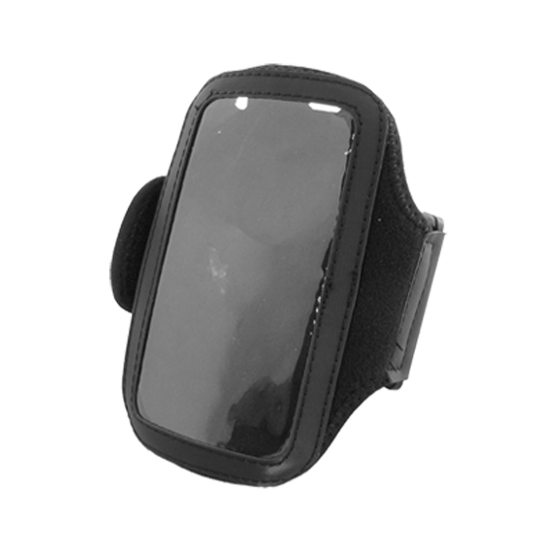 Black Detachable Closure Neoprene Armband Holder for Phone 4G