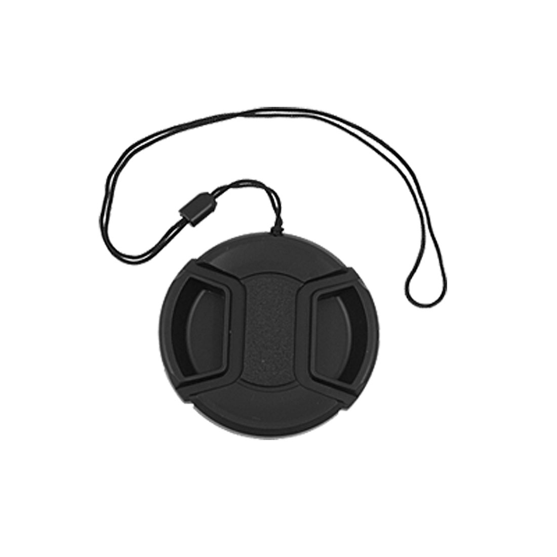 55mm Center Pinch Snap Front Lens Cap Hood Cover for Filter