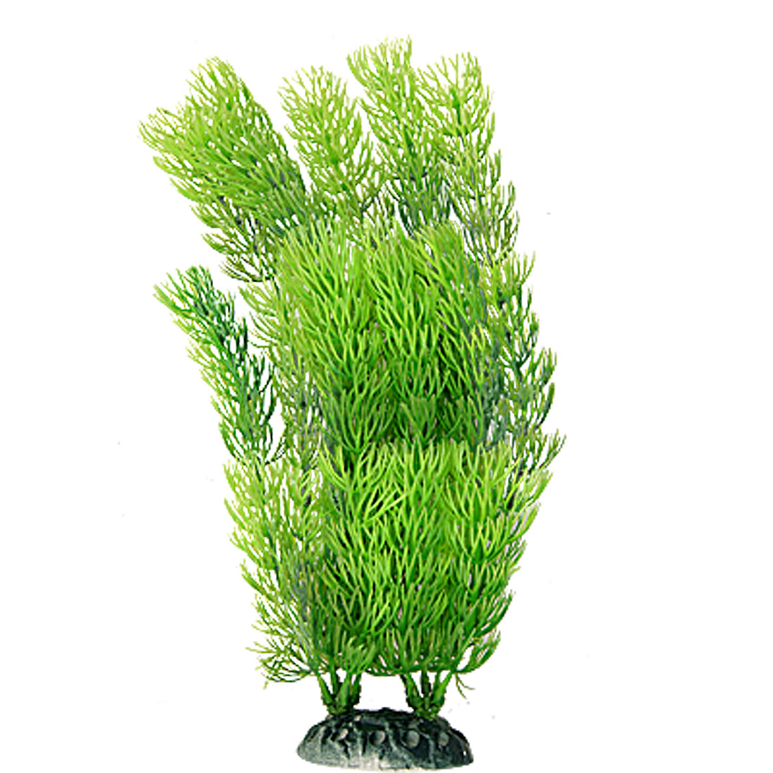 Plastic Green Underwater Grass Ornament for Fish Tank