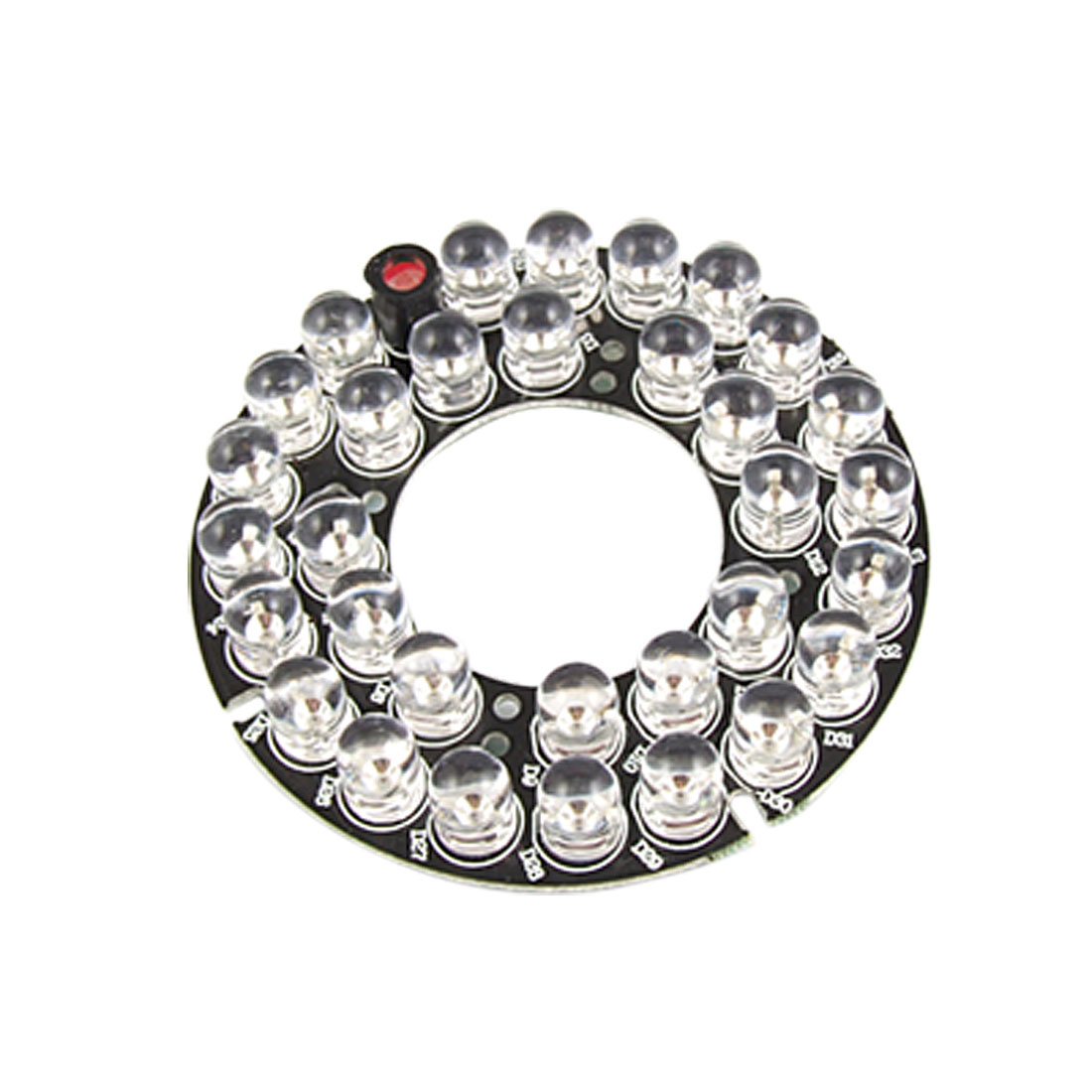 CCTV Security Camera 32-LED Infrared Bulbs IR Board Plate