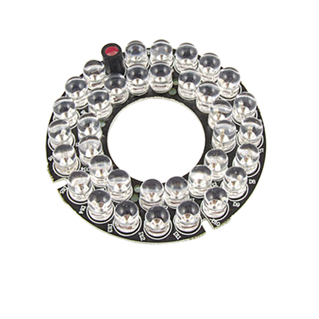 8mm 36-LED Infrared Bulbs 45 Degree Circle IR Board for CCTV Camera