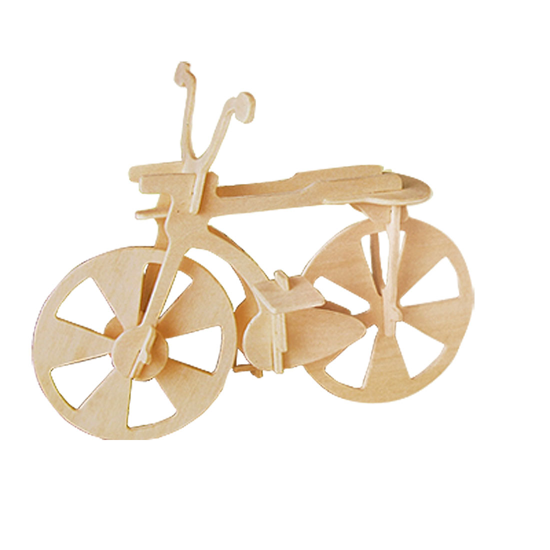 Wooden DIY Craft Bike Bicycle Model Kit for Children