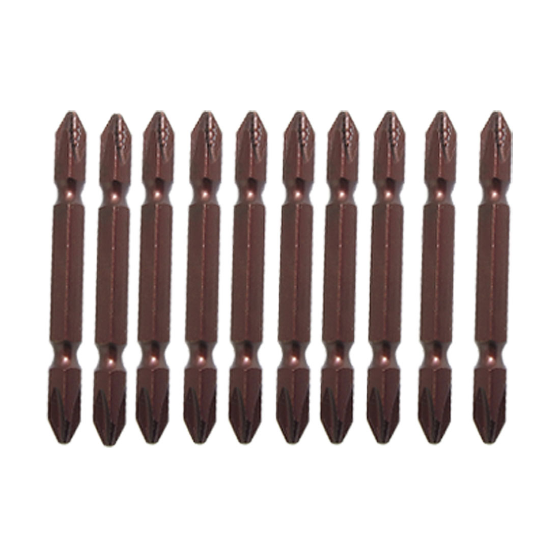 10 Pcs Double End Magnetic PH1 Phillips Screwdriver Bit