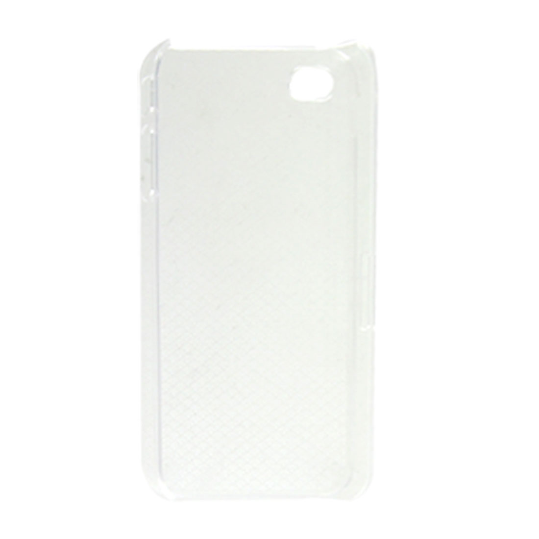 Clear Fish Scale Pattern Plastic Cover for iPhone 4 4G