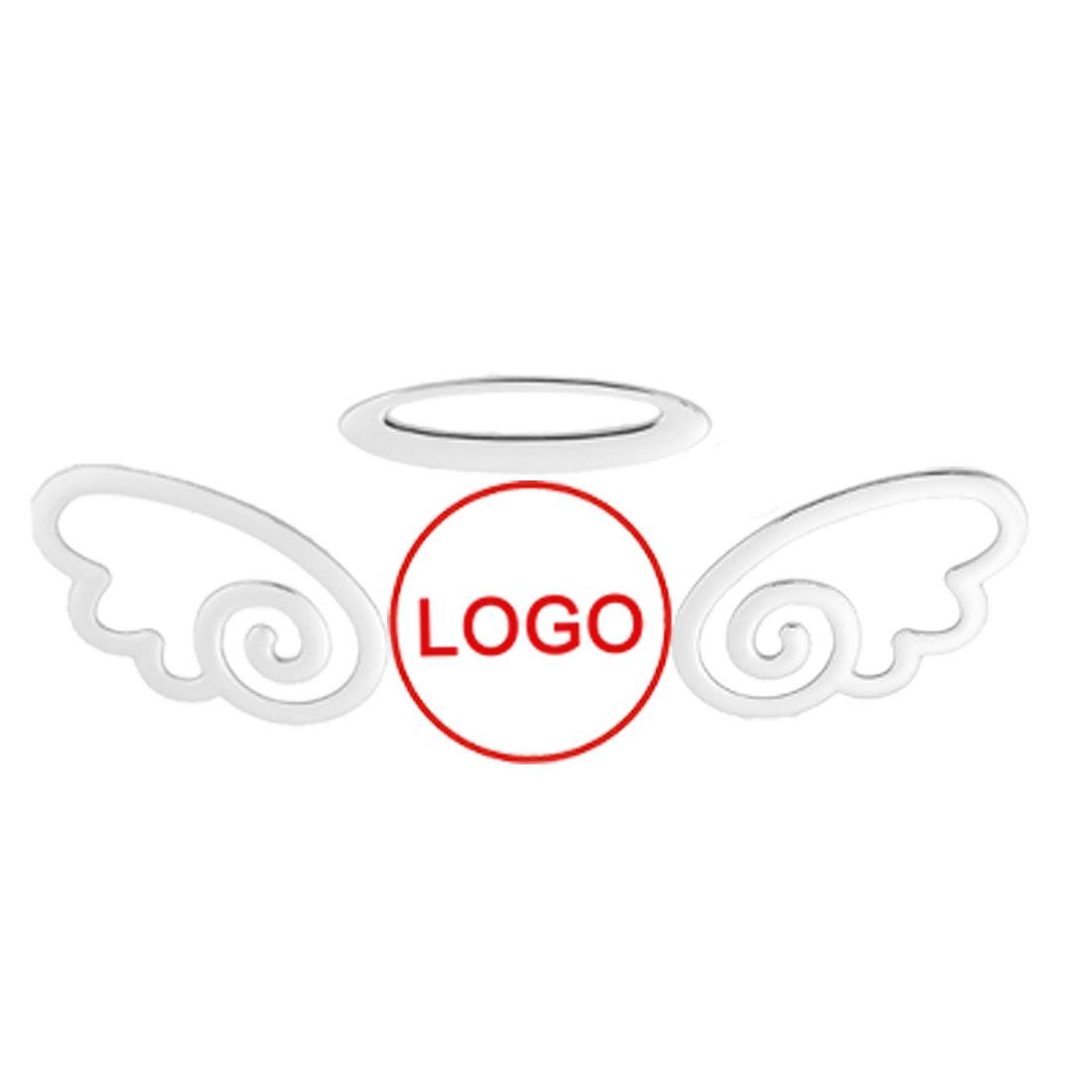 3D Cute Flying Angel Decal Sticker Car SUV Emblem Logo