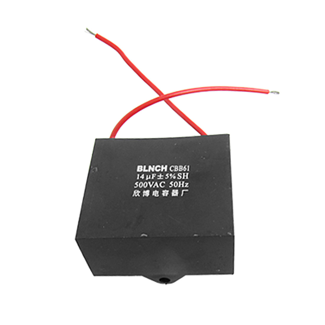 Ceiling Fan Capacitor CBB61 14uf 500VAC 2 Wire 50Hz