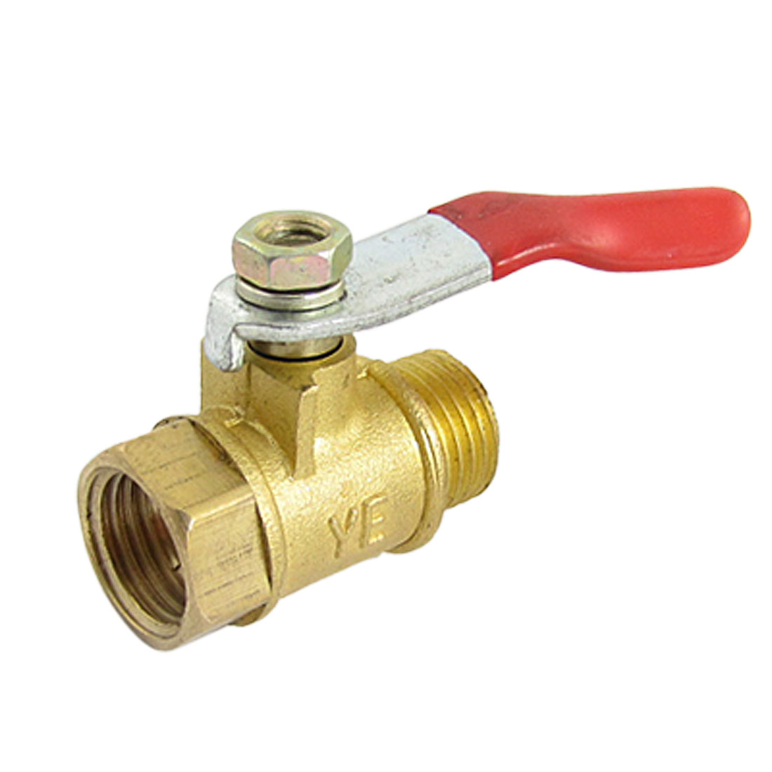 Air Compressor Accessory Forged Brass Lever Gas Ball Valve