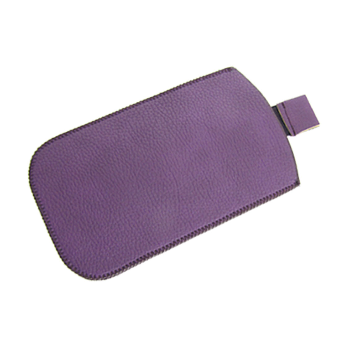 Palatinate Purple Faux Leather Pouch for Apple iPhone 4 4G