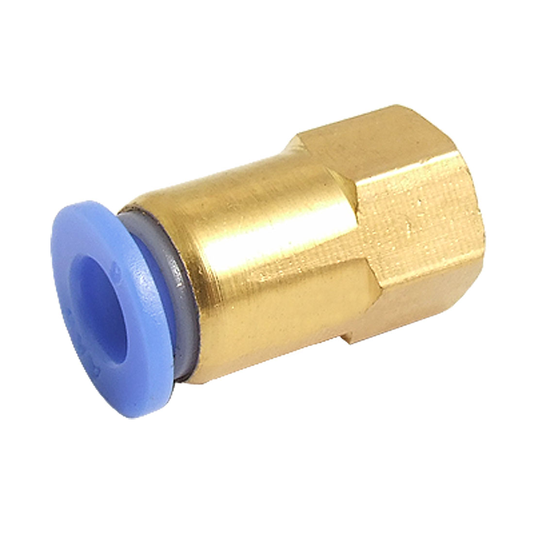 Pneumatic 10mm to 12mm Straight Push in Female Screw Connector