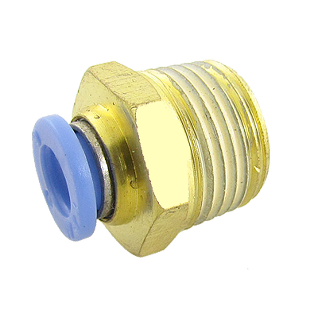 12mm Thread 4mm Push In Tube One Touch Fitting Connector