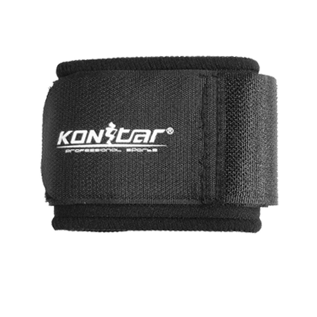 Black Hook Loop Fastener Neoprene Adjustable Wrist Support Protector