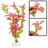 Green Fuchsia Artificial Plastic Grass Decoration for Fish Tank
