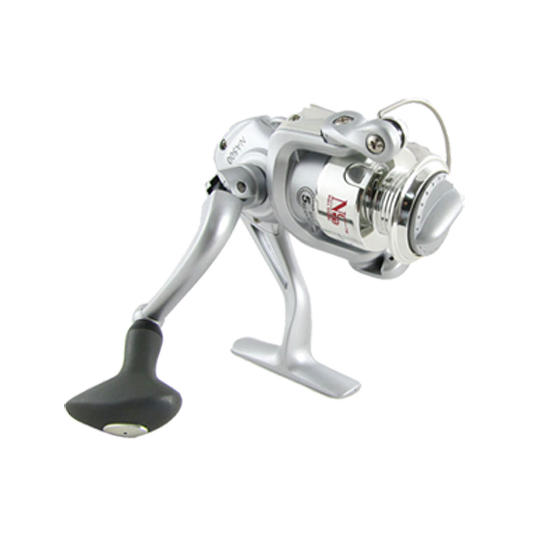 Silver Tone Gear Ratio 5.1:1 Fishing Spinning Reel Roller
