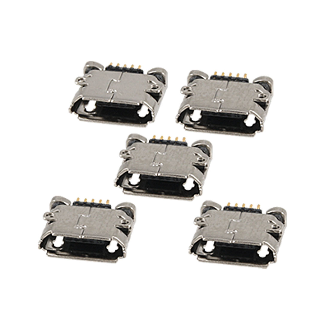 5 Pcs Charging Port Interface Connector Parts for Nokia 8600