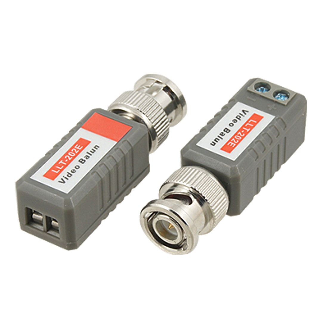 CCTV Camera Passive BNC Connector Cat5 UTP Video Balun Transceiver 2 Pcs