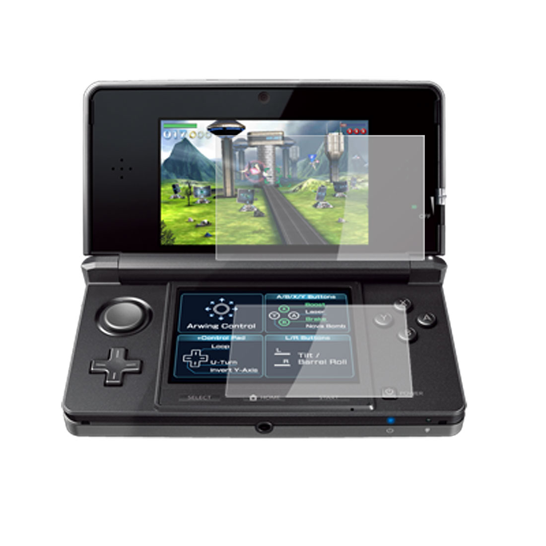 Protective Clear LCD Screen Protector for Nintendo 3DS