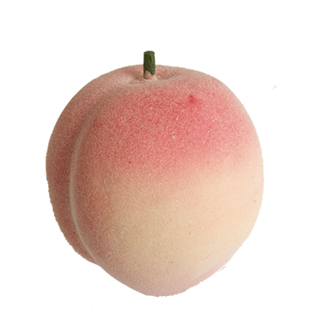 Home Household Foam Faux Juicy Peach Desk Table Fruit Ornament