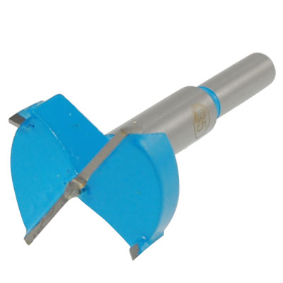 35mm Cutting Diameter Hinge Boring Drill Bit Gray Blue