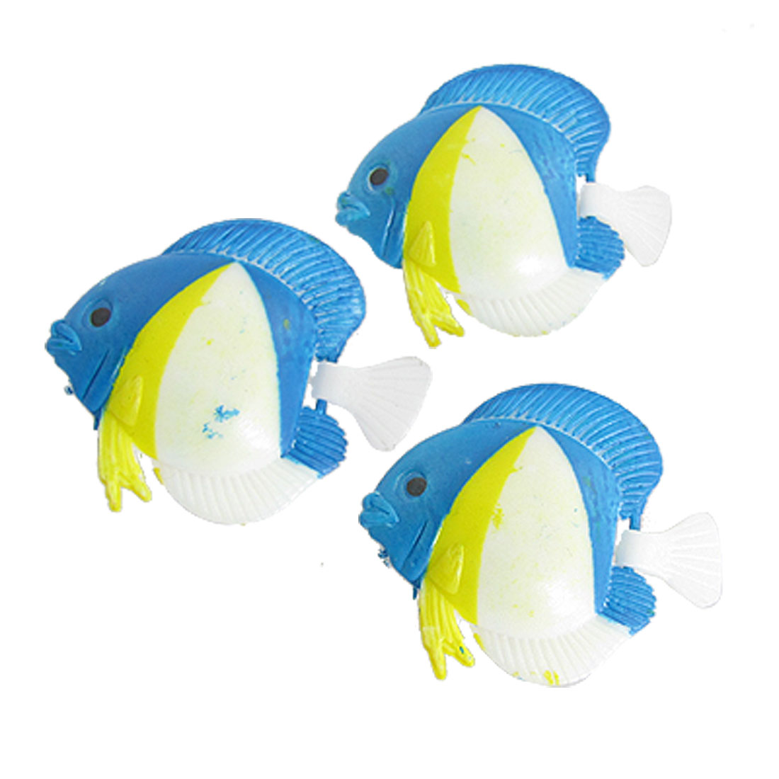 3 Pcs Emulational ional Plastic Floating Fish for Aquarium Fish Tank