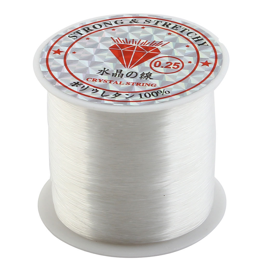 Fisherman Angling Fishing Reel Spool Line Thread Clear 0.25mm Diameter