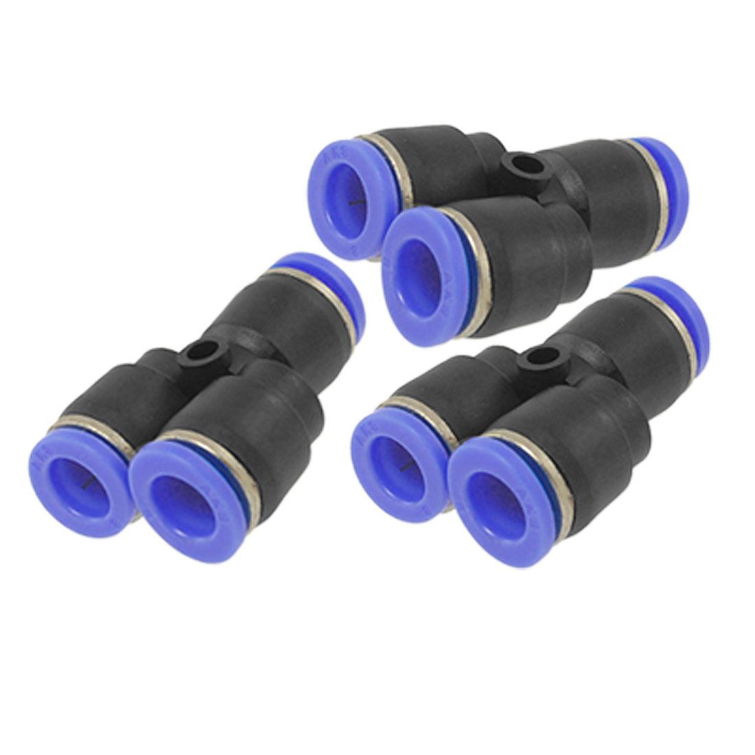 3 Pcs Y Shaped 8mm Quick Joint Air Pneumatic Push In Fittings