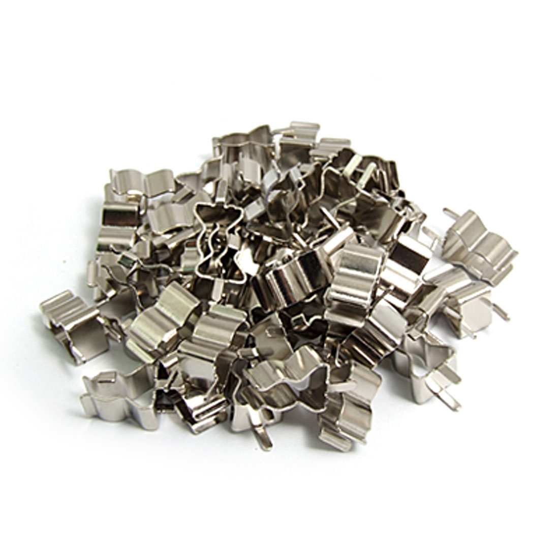 50 Pcs 6 x 30mm Electronic Glass Fuse Tube Clip Clamp