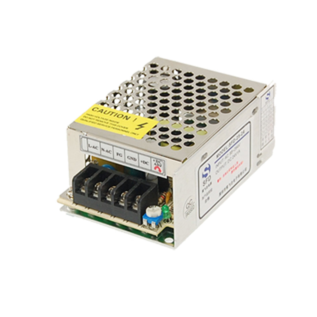 AC 110-220V DC 24V 1A 24W Single Output Power Switch Supply for LED Strip Light