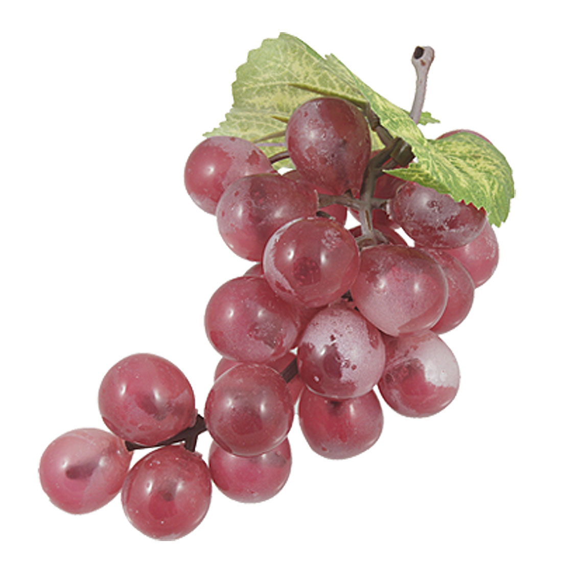 Artificial Plastic Red Grape Simulation Fruit Ornament Decor