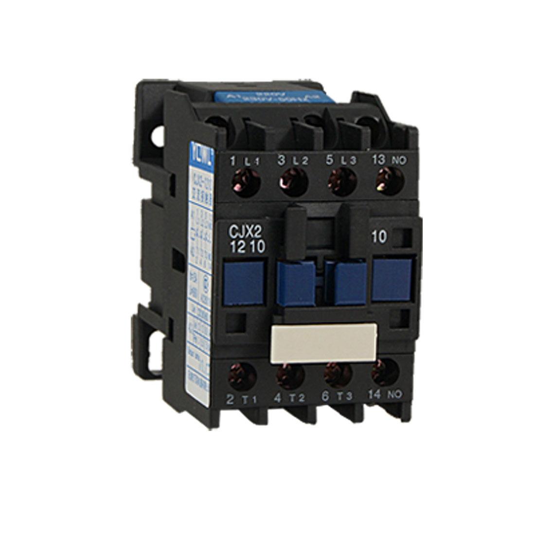 CJX2-1210 690V Ui 12A 220 Volt 3 Poles AC Contactor 3P+NO Normally Open
