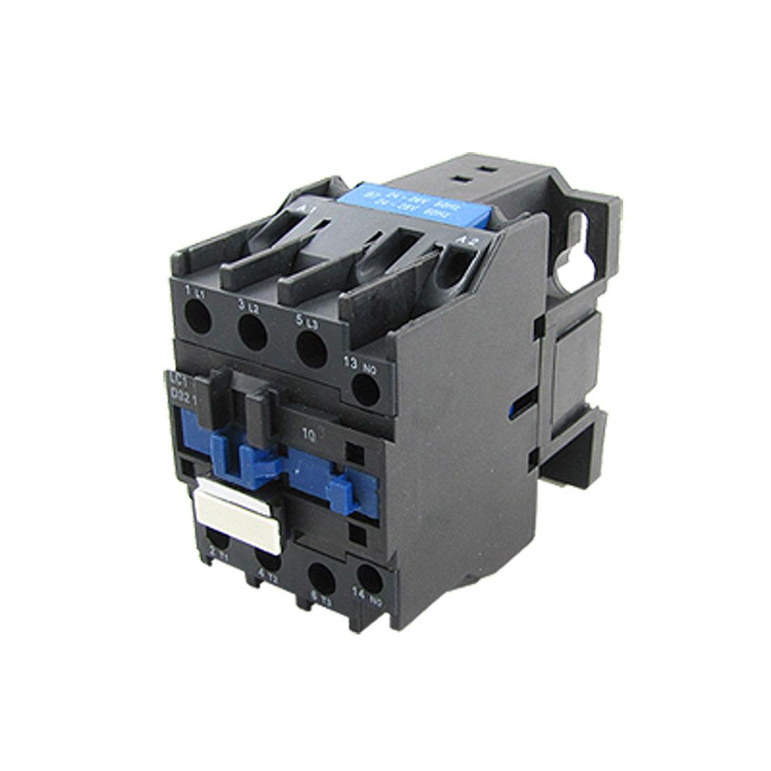 LC1-D3210 690V Ui 3 Poles 1NO AC Contactor 24V 50/60Hz Coil 32 Amp